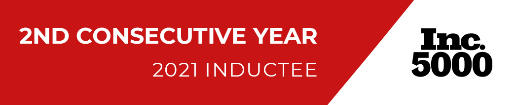 First Factory Makes the Inc. 5000 List for the Second Consecutive Year - 2021 Inductee